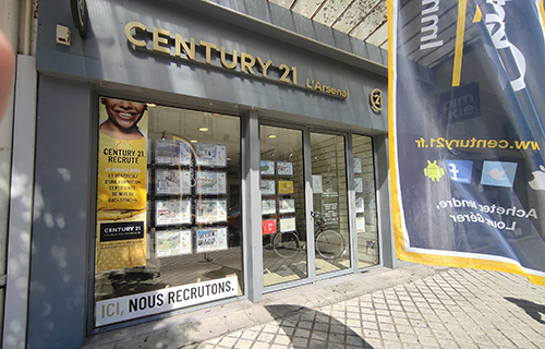 Agence immobilière CENTURY 21 L'Arsenal, 17300 ROCHEFORT